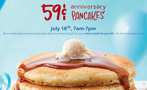 Ihop Thanksgiving Ihop 59 Short Stack Of Pancakes On 7 18