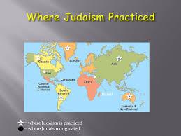 where judaism is practiced where judaism originated israel