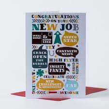 Congrats On New Job Card Congratulations Card New Job Arrows Only 59p