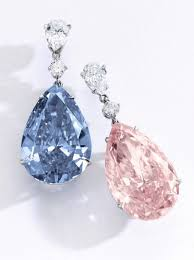 pink diamond earrings update world s most expensive earrings fetch 57 4 million at auction