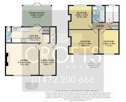 Conservatory Floor Plans Dame Kendal Grove Grimsby 3 Bed Semi Detached House 495 Pcm