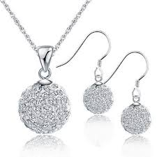 silver jewellery necklace sets images Silver bridal jewelry sets and more fashion jewelry sale online jpg