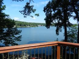 lake views from wrap around deck sparta nj business u0026 real estate