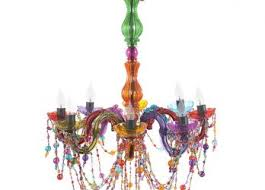 Multi Coloured Chandeliers Multi Coloured Chandelier Low Ceiling Lighting Cordless Light