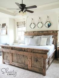 King Bed Frame Heavy Duty King Bed Diy By Shanty2chic Free Woodworking Plans Heavy Duty