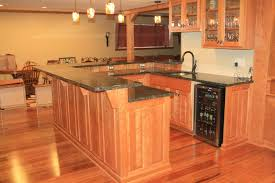 Countertop Options Kitchen Attic Renovation Kitchen Countertop Options And Natural Wooden