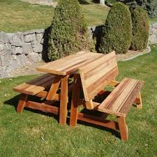 Folding Wood Picnic Table Outdoor Ideas Awesome Wood Picnic Table Plans Fleet Farm Picnic