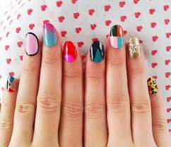 nail designs different nail art in one hand 3d nail art cool