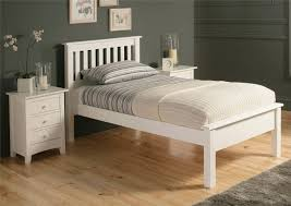 Twin Wooden Bed by Poundex F4239 White Wood Chest Of Drawers Steal A Sofa Furniture