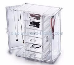necklace earring display box images Custom acrylic jewellery display necklace display box jewelry jpg&a