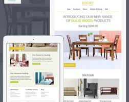 mailchimp email template sales responsive html email modern