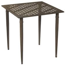 Hampton Bay Patio Furniture Touch Up Paint by Hampton Bay Oak Cliff Metal Outdoor Bistro Table 176 411 28bt