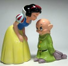 snow white and dopey salt pepper shaker set from our salt and