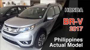 honda cars philippines honda br v 2017 philippines actual model review 혼다 br v youtube