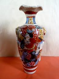 Japanese Kutani Vases Ceramics Japanese Newlyn Antiques