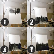 black and white painting ideas simple but striking black white diy abstract painting dans le