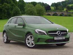 mercedes green used mercedes a class sport green cars for sale motors co uk