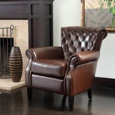 leather club chairs foter