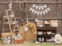 classic cowboy birthday party vintage ladder cowboy party and