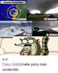 Earthquake Meme - ecuador earthquake lombia muisne ecua 78 ecuador chile