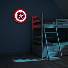 captain america shield light target brilliant 60 captain america wall art inspiration of compare prices