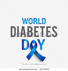 creative poster diabetes day stock vector 512750767