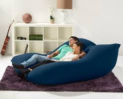 yogibo double bean bag couch and bed