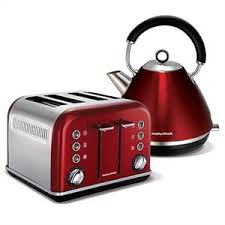 Morphy Richards 2 Slice Toaster Red Accents By Morphy Richards Australia Kettles And Toasters With A
