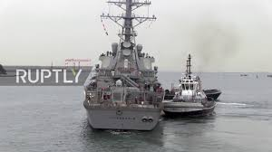 Us Flagged Merchant Ships Us Navy Destroyer Collides With Merchant Vessel Off Japan Video