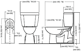 Eljer Corner Toilet Toilet Dimensions Standard Dimensions Of Toilet Dimensions Of A