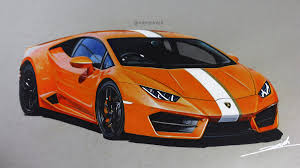 lamborghini car drawing lamborghini huracan rwd drawing roman miah draw to drive