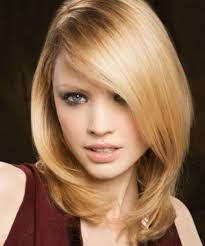 hispanic woman med hair styles coolest straight layered hairstyles for medium length hair back view