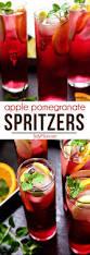 apple pomegranate spritzers recipe tidymom