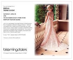 bloomingdale bridal gift registry orange county magazine bridal trend event april 30