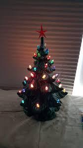 christmas christmas tree with music lights decoration ceramic