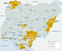 Nigeria Map Africa by Collective Action On Corruption In Nigeria Chatham House