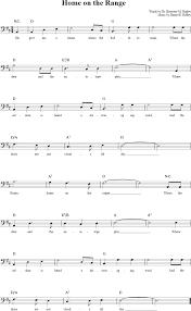 on the range cello sheet music