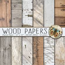 Wedding Backdrop Rustic Wood Digital Paper White Wood Digital Paper Rustic Wood Textures
