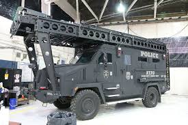 police armored vehicles ny nypd esu swat