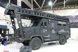 police armored vehicles ny nypd esu swat