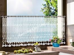 Cheap Cafe Curtains Sophisticated Transparent Brown Tier Kitchen Cafe Curtain Design