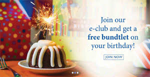 birthday freebie u2013 nothing bundt cakes freebie depot