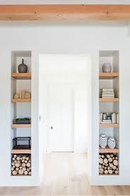 Wooden Gallery Shelf by Wall Units Awesome Shelves Built Into Wall Wall Shelves For