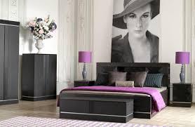 chambre moderne pas cher lit design 2 personnes avec sommier à vérin mobilier pas