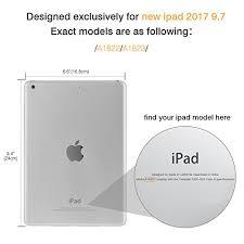 amazon black friday 2017 ipad amazon com moko case for new ipad 2017 9 7 inch slim fit multi