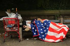 How Big Is The American Flag Poverty 10 Cities With The Most Homeless People