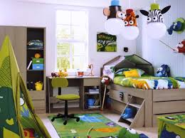 toddler room ideas in childcare brown wood floor white woode bunk
