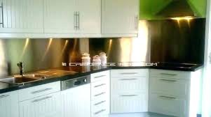 plaque inox pour cuisine inox pour cuisine fond de hotte en inox pour cuisine meuble inox