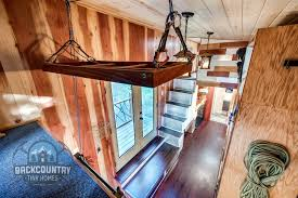 tiny house with loft over living room patrick and backcountry basecamp tiny house living