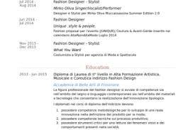 Fashion Stylist Resume Sample by Stylist Resume Templates Resume For Fashion Stylist Fashion Resume